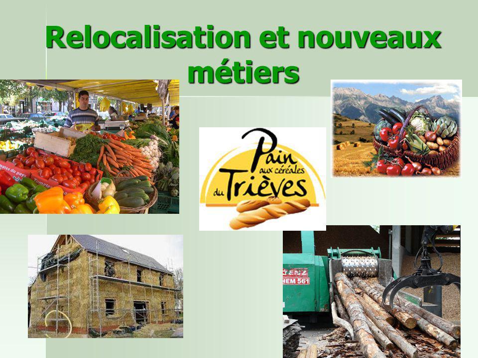 Relocalisation et nouveaux métiers
