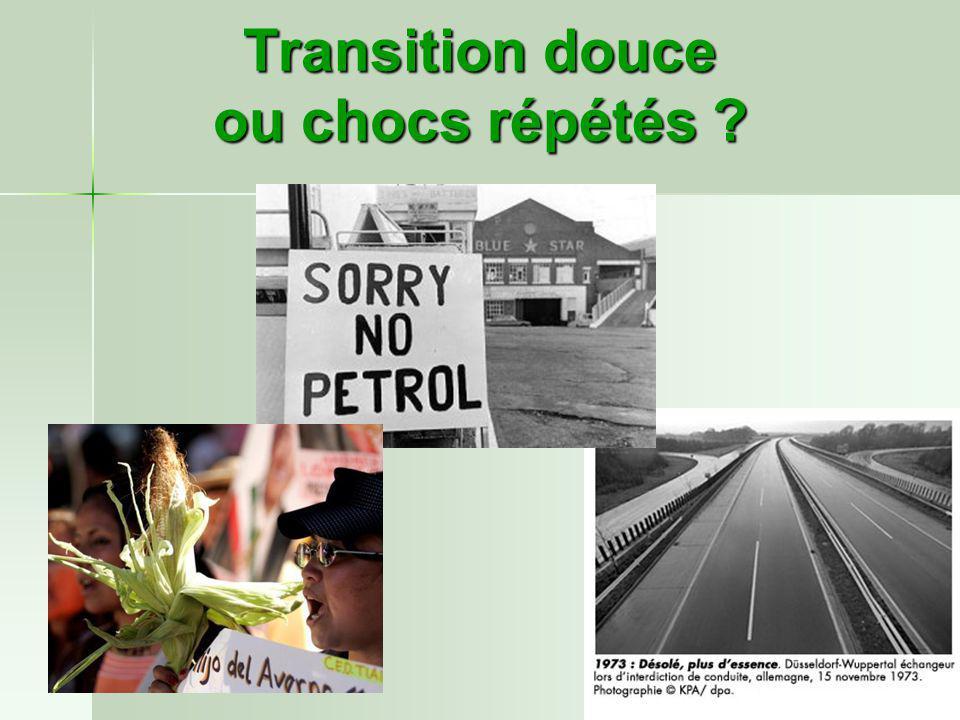 Transition douce ou chocs répétés ?