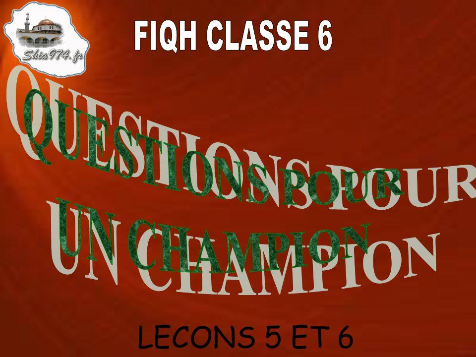LECONS 5 ET 6
