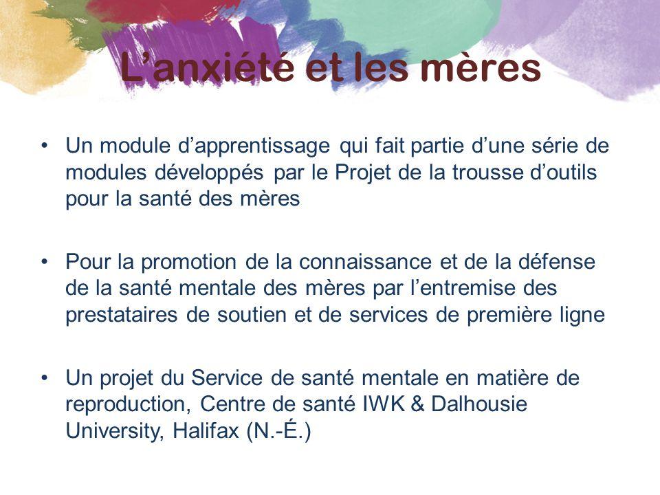 Un module d'apprentissage qui fait partie d'une série de modules développés par le Projet de la trousse d'outils pour la santé des mères Pour la promo