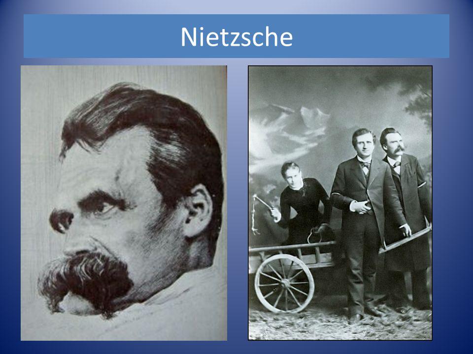 Nietzsche: le surhomme L'anthropologie de Nietzsche est marquée par l'apparition d'un individu fort, capable de se donner des valeurs à soi-même sans se soucier de rien.