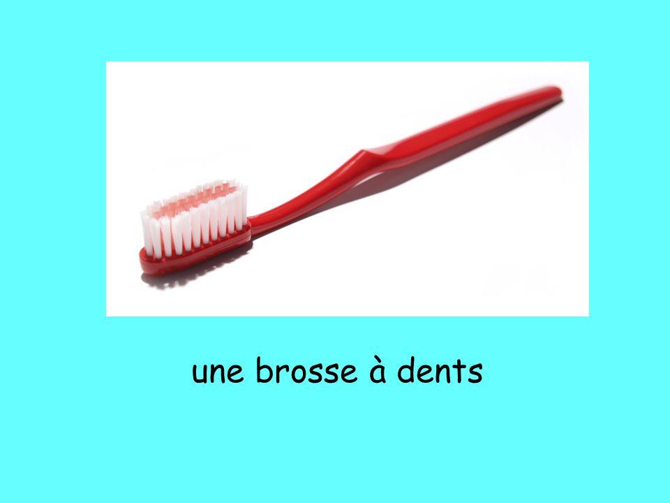 une brosse à dents