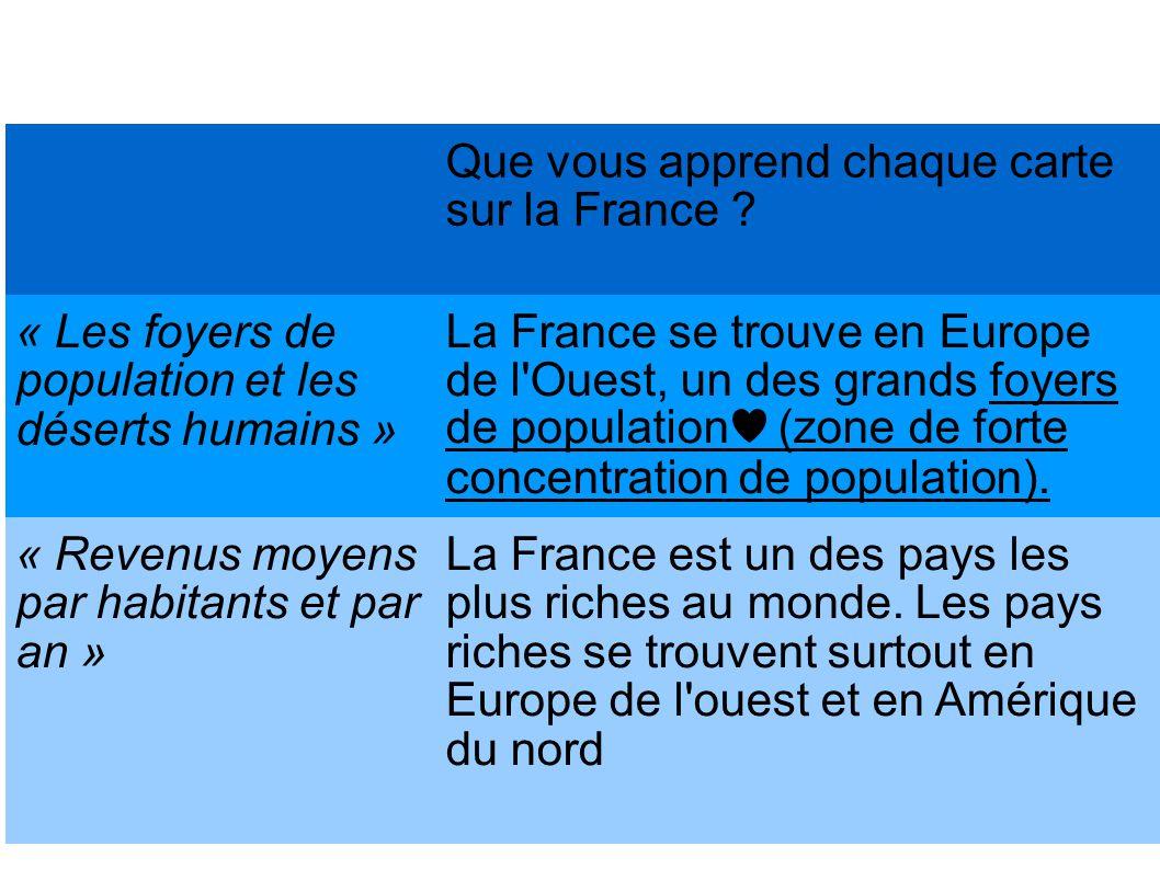 Où se trouve la France ?