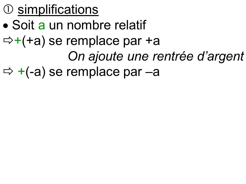  Exemples (+3)+(+8)=3+8=11 (+3)+(-8)=