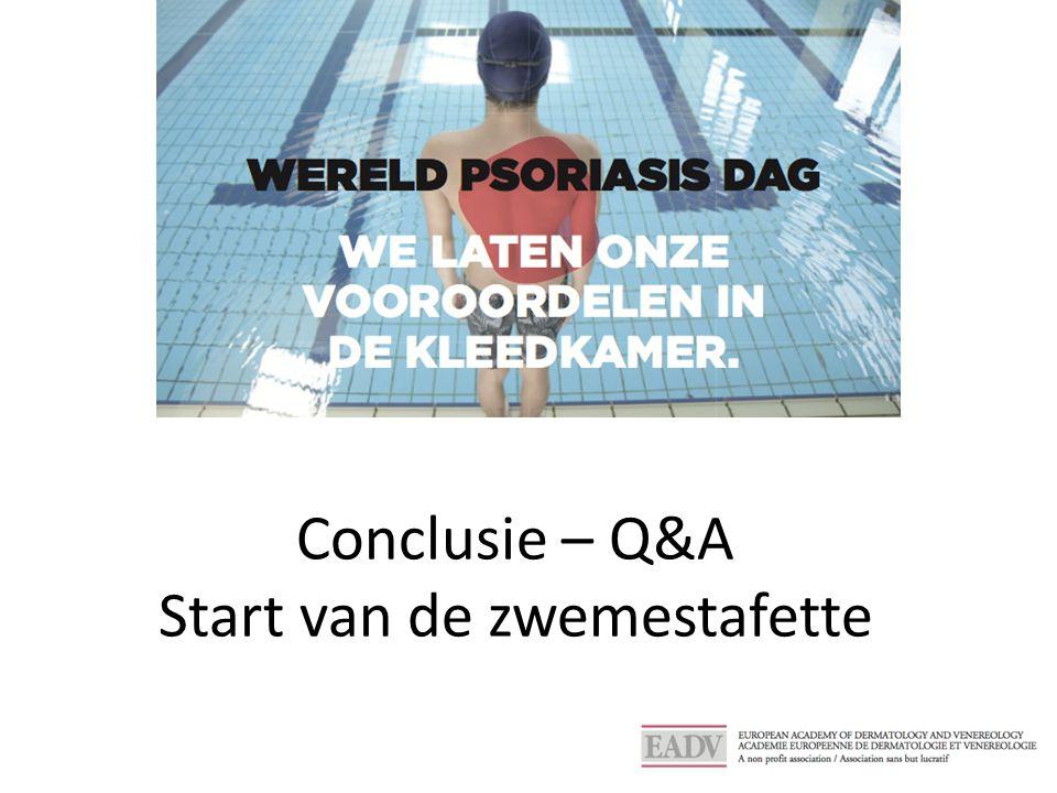 Conclusie – Q&A Start van de zwemestafette