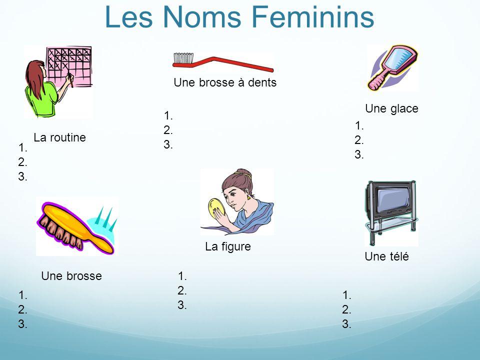 Les Noms Feminins Une télécommandeUne émission Une publicité Les dents 1.