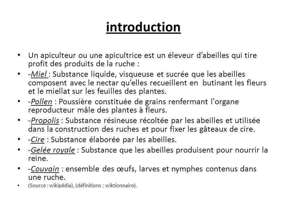 2.LE TRAVAIL DE L'APICULTEUR 3.1AU COURS DES SAISONS.