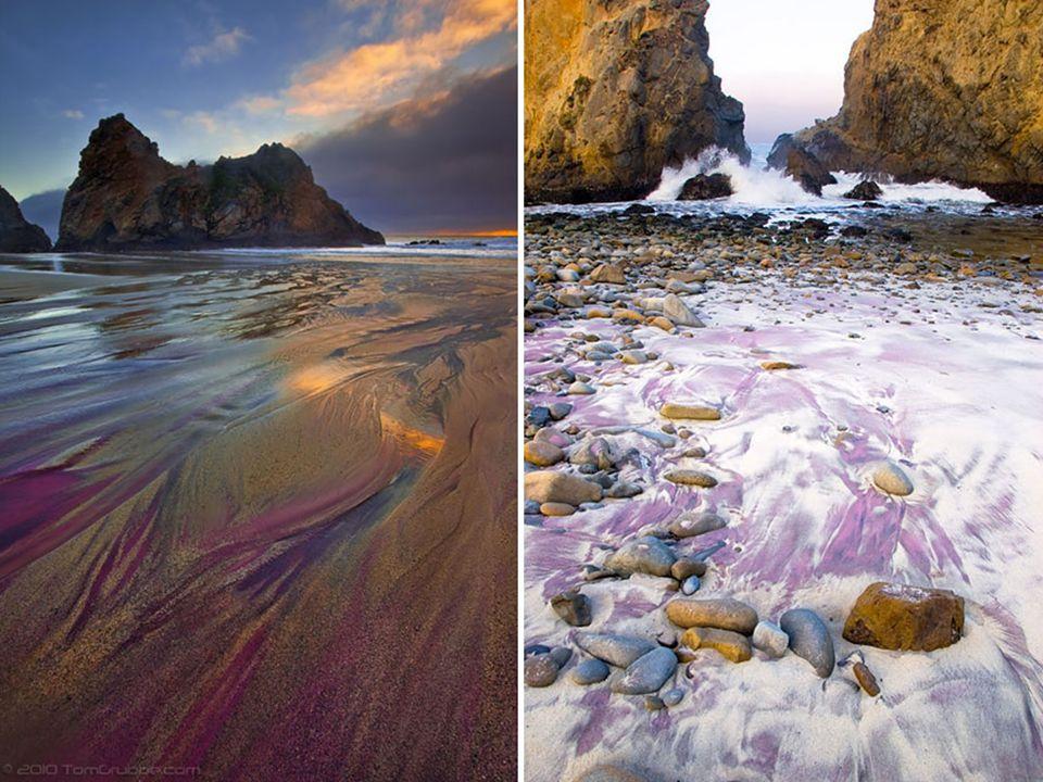La plage secrète de Pfeiffer Beach, Californie