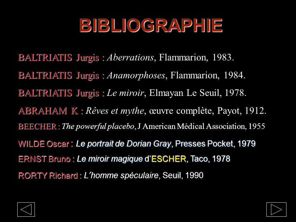 BIBLIOGRAPHIE BALTRIATIS Jurgis : BALTRIATIS Jurgis : Aberrations, Flammarion, 1983.