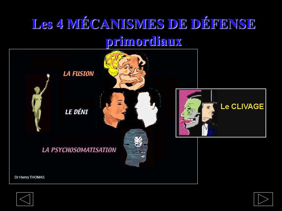 MÉCANISMES DE DÉFENSE Dr Henry THOMAS S'ADAPTER ou NIER le PROGRAMME PSYCHIQUE