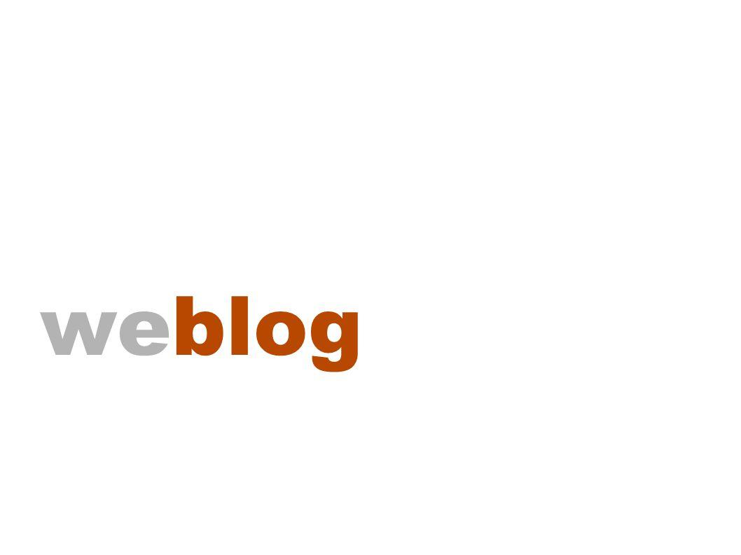 Plusieurs types de blogues (pour tous les goûts!)
