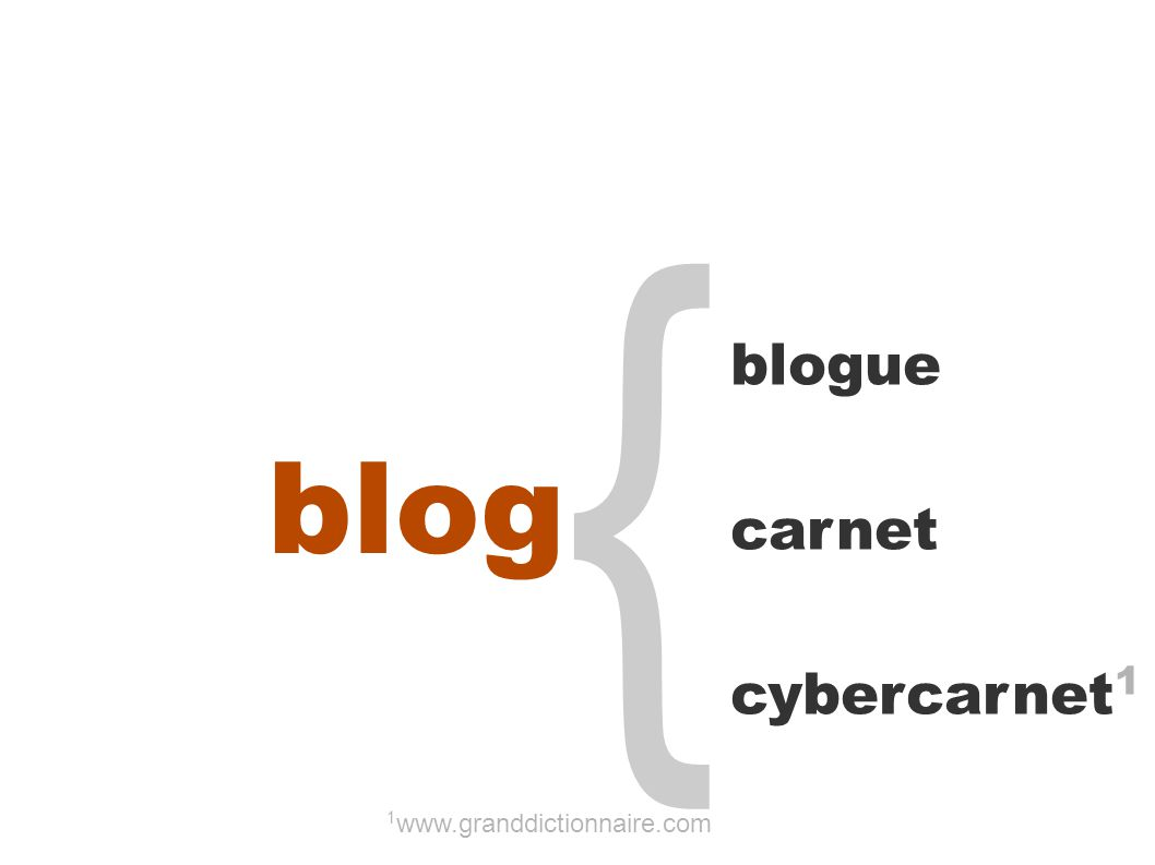 { blogue carnet cybercarnet 1 1 www.granddictionnaire.com