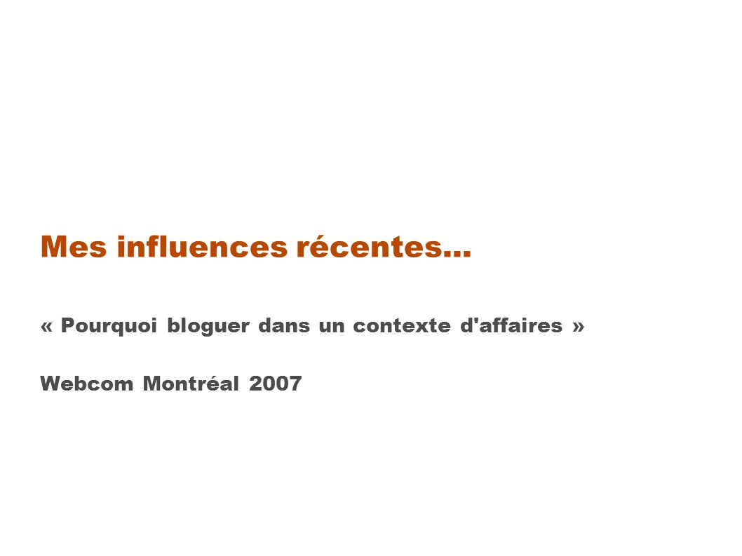 « Save a tree, have a blog.» Fiche « S initier aux blogues...
