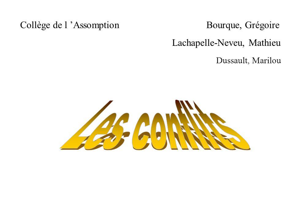 Collège de l 'Assomption Bourque, Grégoire Lachapelle-Neveu, Mathieu Dussault, Marilou