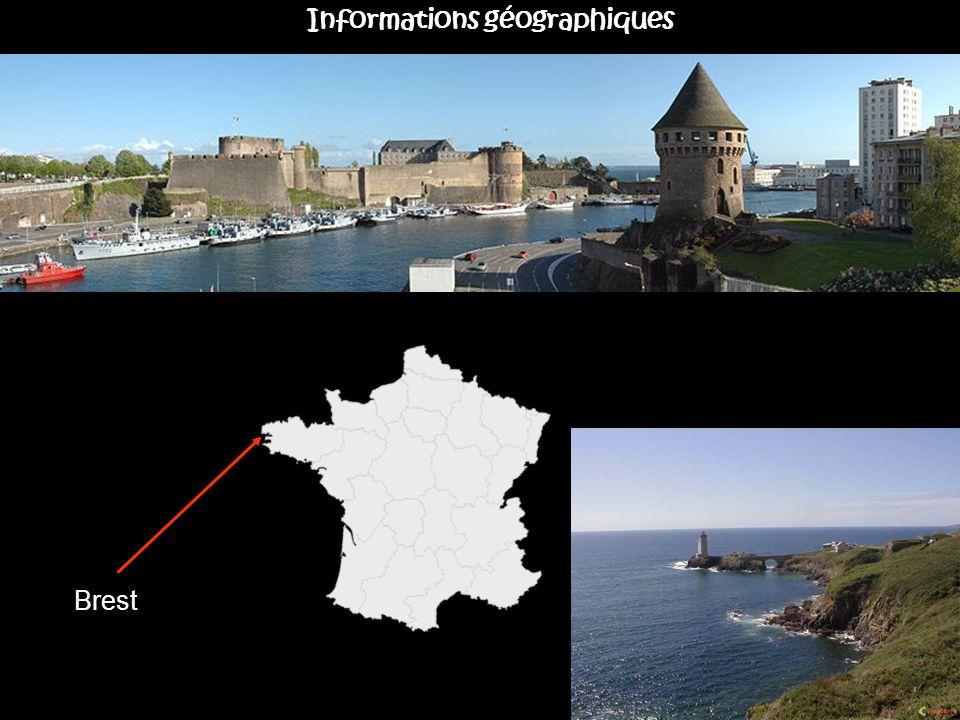 Brest Informations géographiques