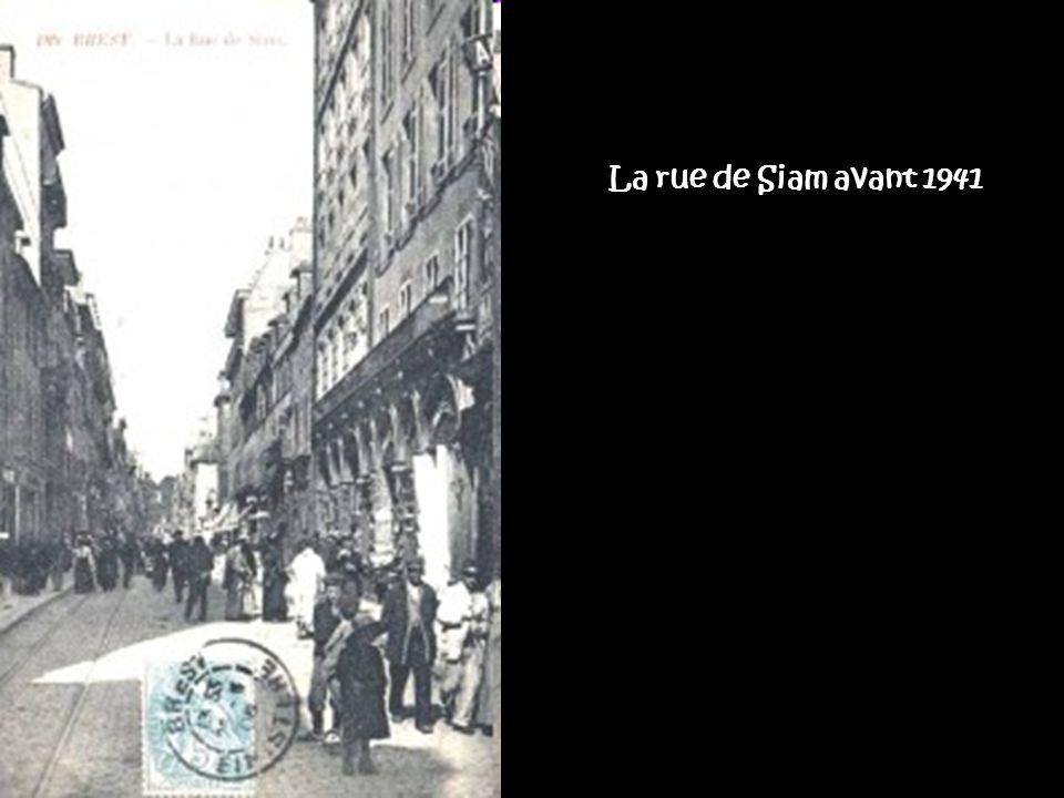 La rue de Siam avant 1941