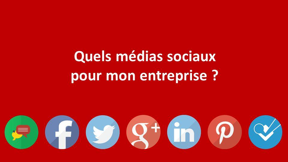 Quels médias sociaux pour mon entreprise ? Et mes trucs et astuces…