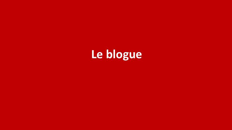 Le blogue