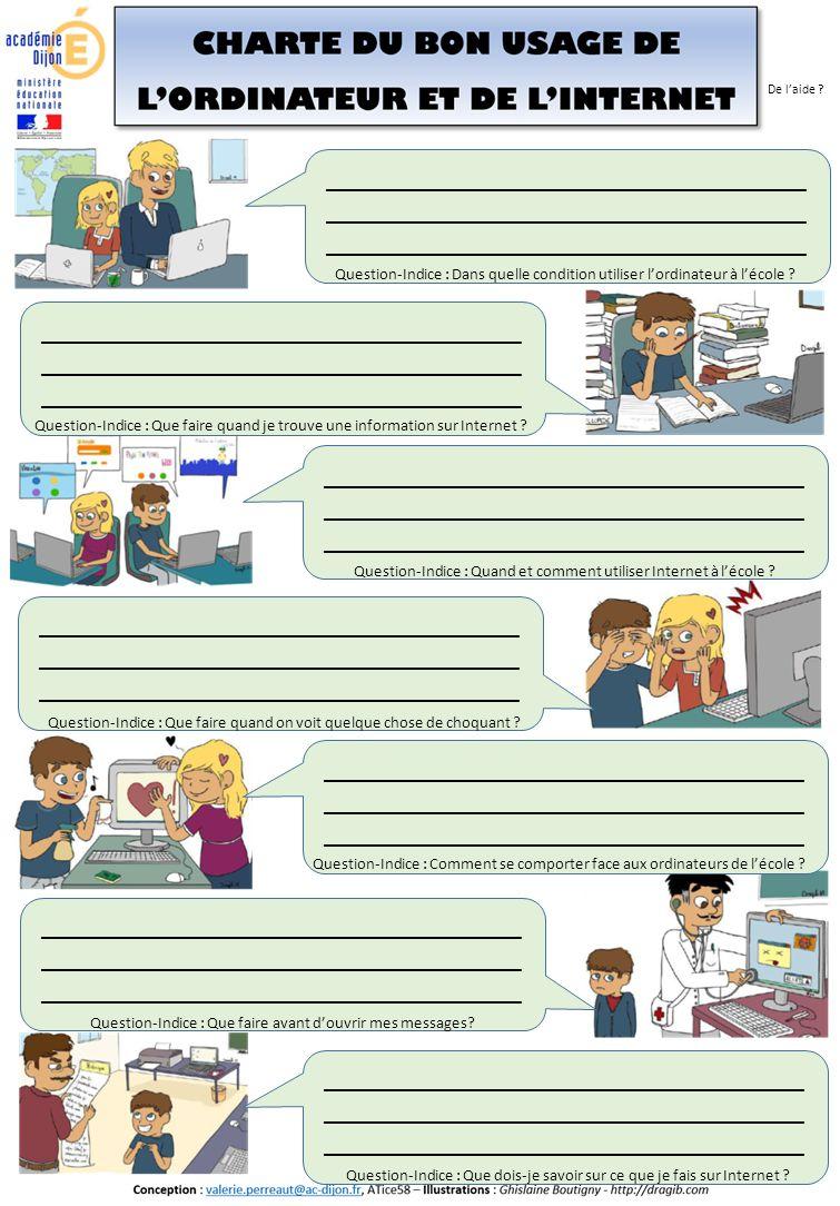 PARTIE 2 TICE et COMPREHENSION Pour l'enseignant :  Vignette 5 : Présentation du contenu  Vignette 6 : Relier chaque mot à sa définition : travail sur le vocabulaire spécifique numérique.