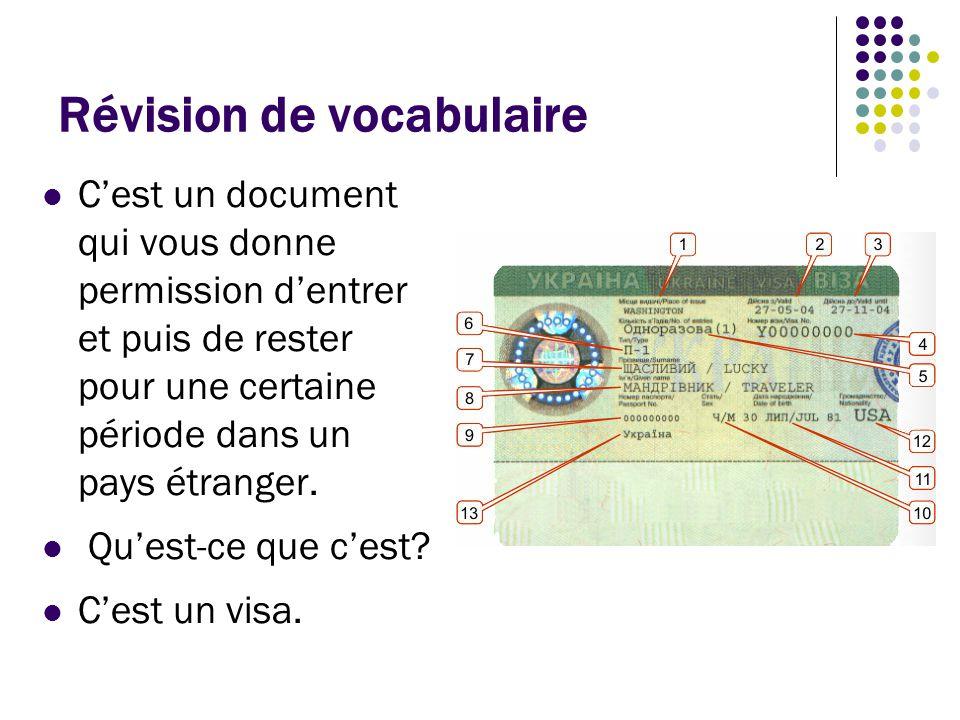 Révision de vocabulaire C'est une machine qui sert à capturer des images.