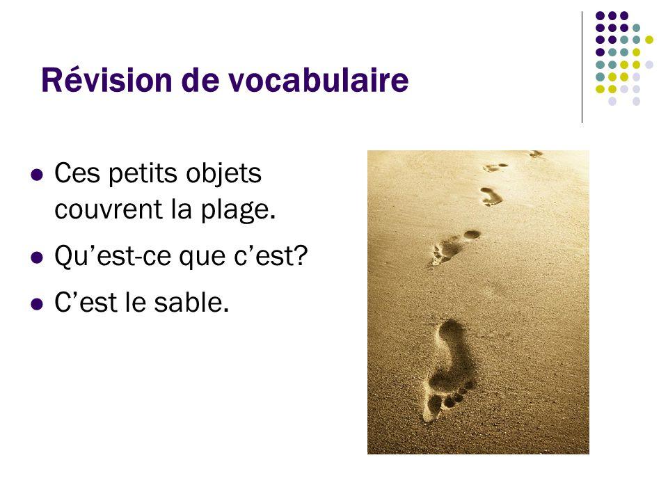 Révision de vocabulaire C'est un prix qui comprend le logement, le transport, et les activités touristiques.