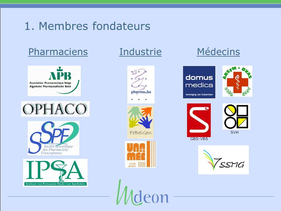 1. Membres fondateurs SVH GBS-VBS Pharmaciens Industrie Médecins