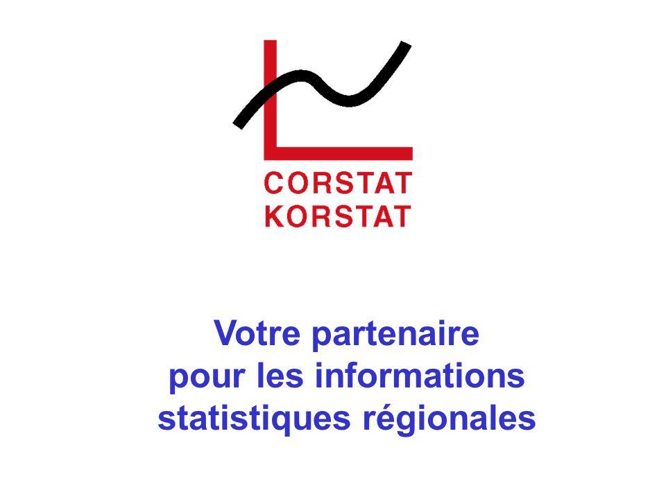 Votre partenaire pour les informations statistiques régionales