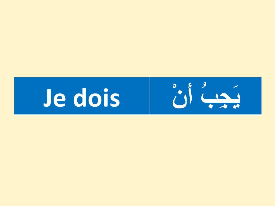 1.On lève le doigt avant de parler. ۱ - أَرْفَعَ يَدي طَلَبًا لِلْكَلام.