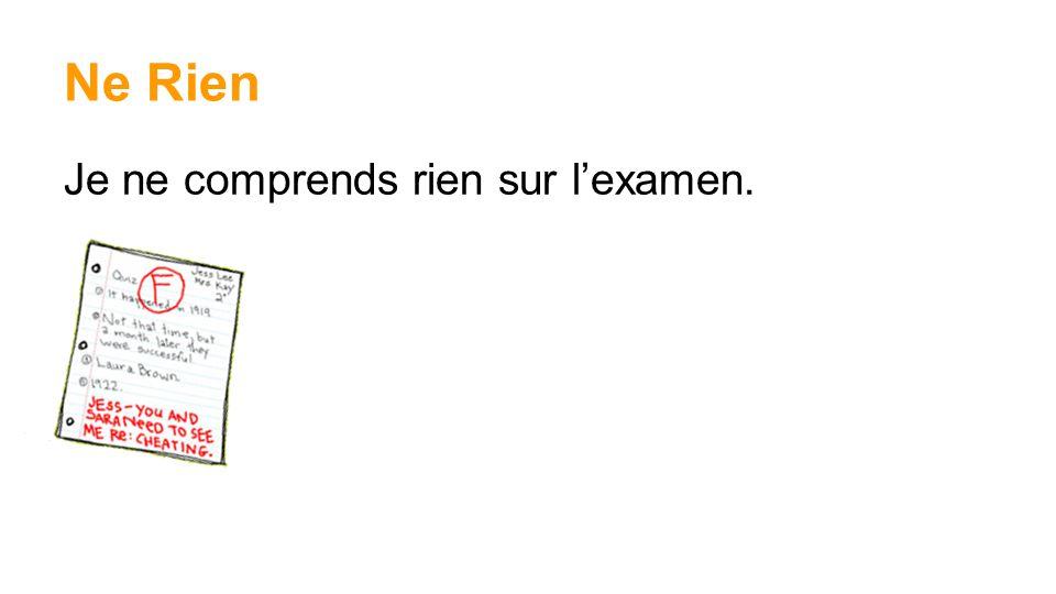 Tout le Monde Tout le monde dans ma classe de français peut parler français parfaitement.