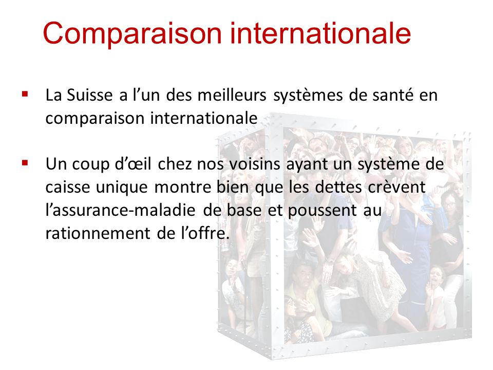 Comparaison internationale (suite)