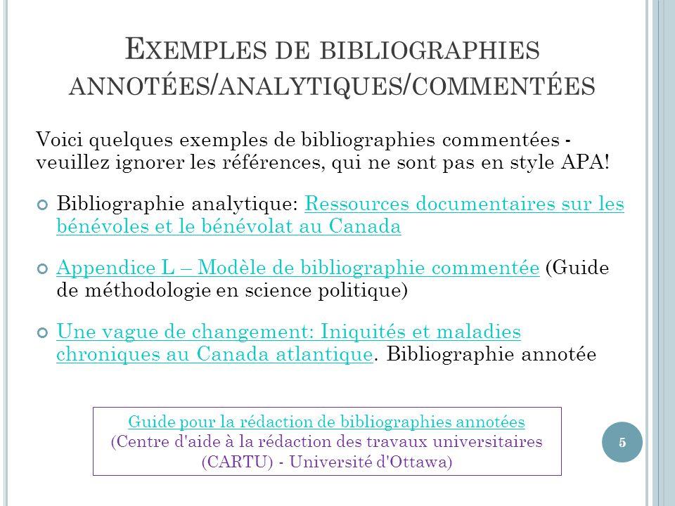 C OMPOSANTES D ' UNE RÉFÉRENCE – LIVRE / M ONOGRAPHIE 1.