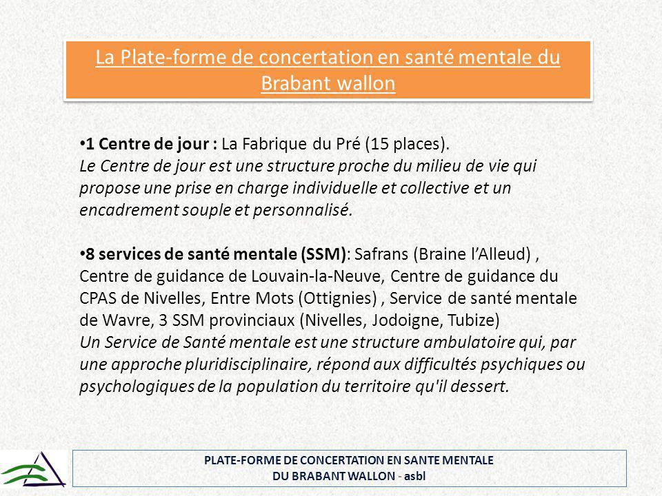 Dans les réalisations concrètes qui pourraient déboucher de la concertation commune, souhaite-t-on soutenir une niche (par exemple la création d'une ETA pour les malades mentaux,…) ou un modèle d'accompagnement .