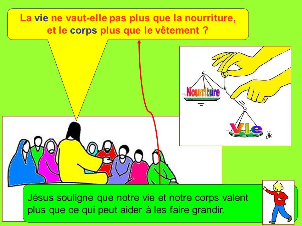 Extrait de « Mille images d'Évangile » de Jean François KIEFFER (Presse d'Île de France) La vie ne vaut-elle pas plus que la nourriture, et le corps p