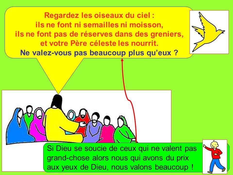 Extrait de « Mille images d'Évangile » de Jean François KIEFFER (Presse d'Île de France) Regardez les oiseaux du ciel : ils ne font ni semailles ni mo