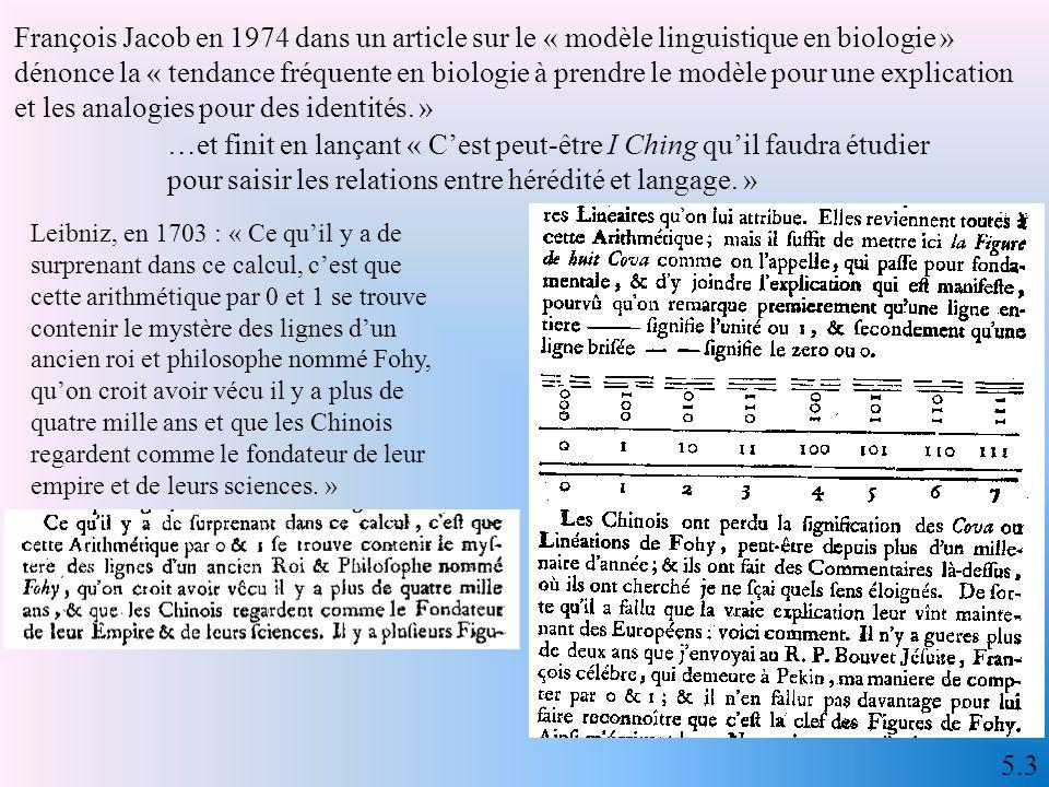 Jacques Monod, 1970 « dangers de la dégradation génétique dans les sociétés modernes (…).