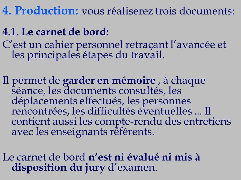 4.Production (suite) : 4.2.