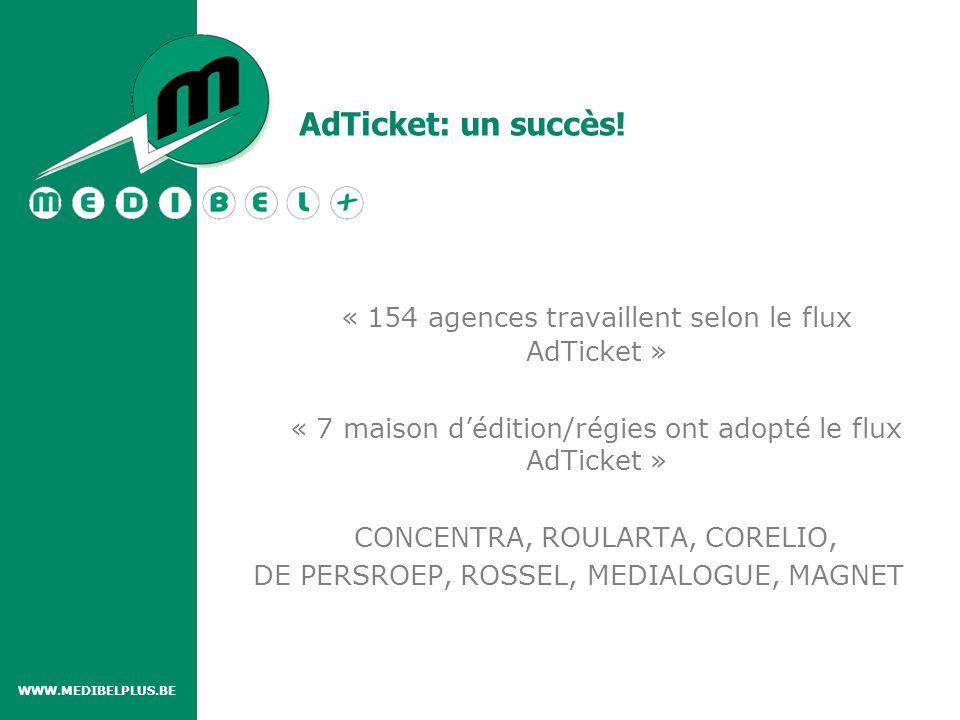 AdTicket: un succès.