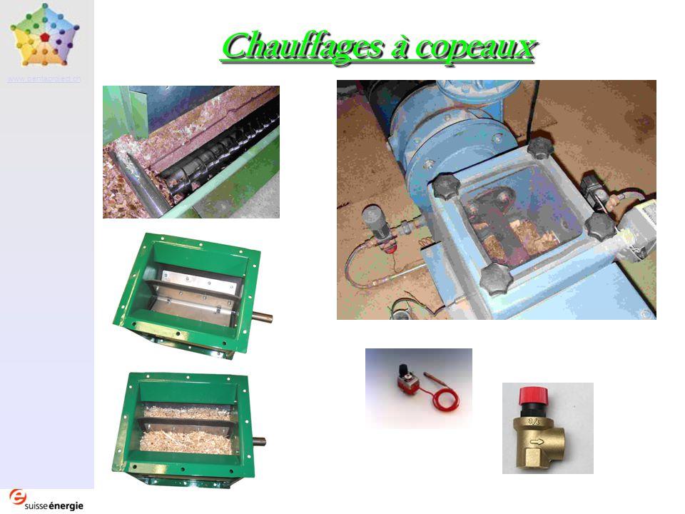 Partenaire www.pentaproject.ch Chauffages à copeaux