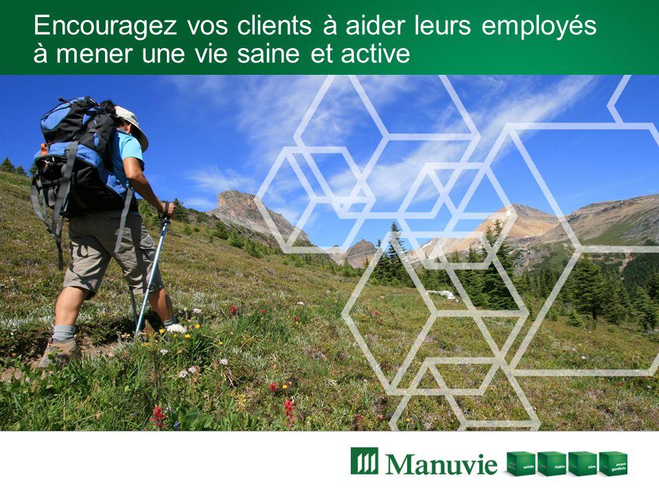 Encouragez vos clients à aider leurs employés à mener une vie saine et active