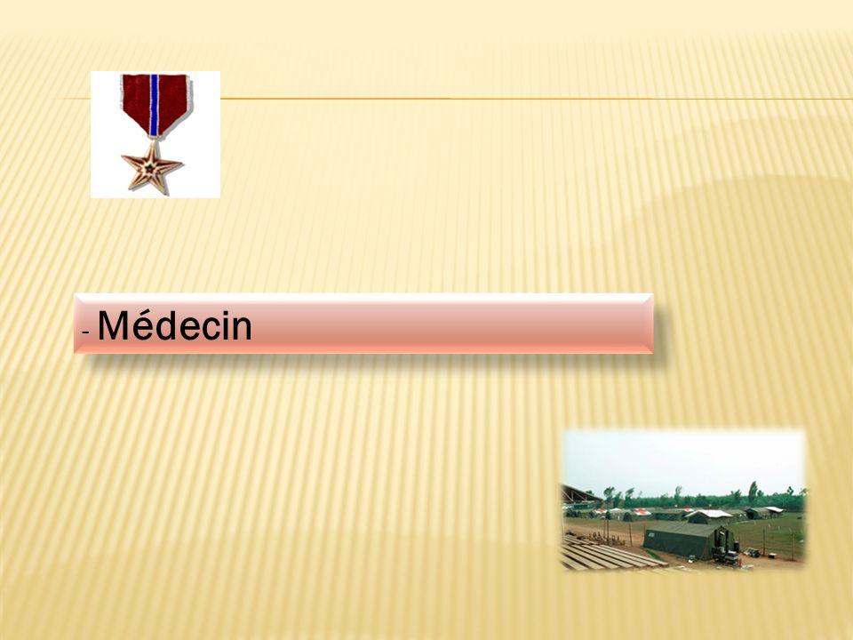 - Médecin