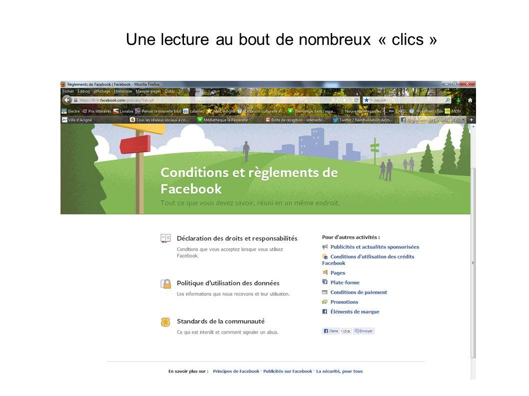 Une information publique peut être vue par tout le monde, y compris les personnes en dehors de Facebook.