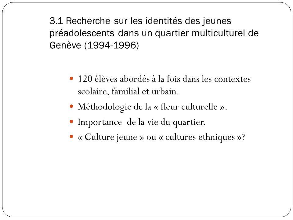 3. Des recherches sur le terrain Méthodes qualitatives Holiste, le sens (interactionnisme symbolique) L'approche holistique consiste en l'examen de to