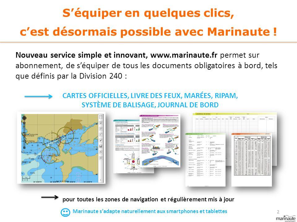 S'équiper en quelques clics, c'est désormais possible avec Marinaute ! Nouveau service simple et innovant, www.marinaute.fr permet sur abonnement, de