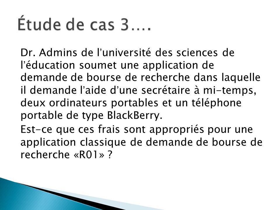 Dr. Admins de l'université des sciences de l'éducation soumet une application de demande de bourse de recherche dans laquelle il demande l'aide d'une