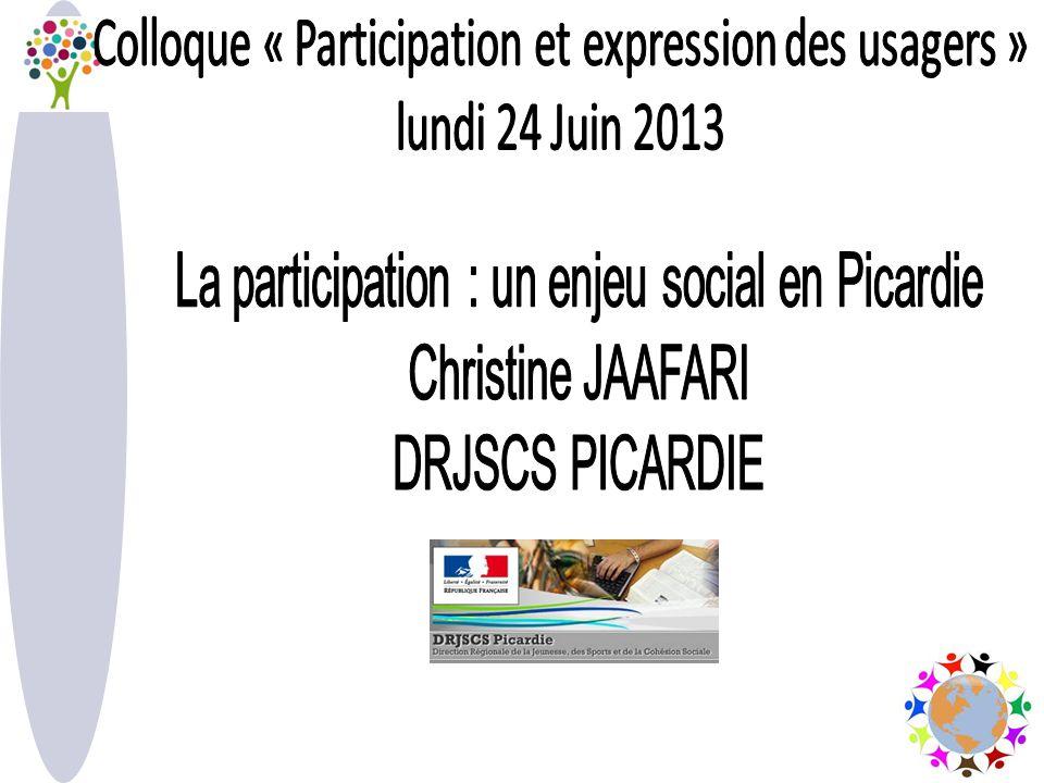 2 Fonctionnement de la participation Participation à la réflexion à décision à la gouvernance Consultation
