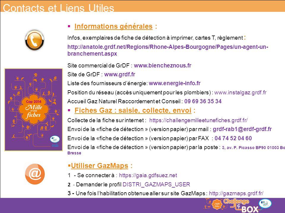  Fiches Gaz : saisie, collecte, envoi : Collecte de la fiche sur internet : https://challengemilleetunefiches.grdf.fr/ Envoi de la «fiche de détectio