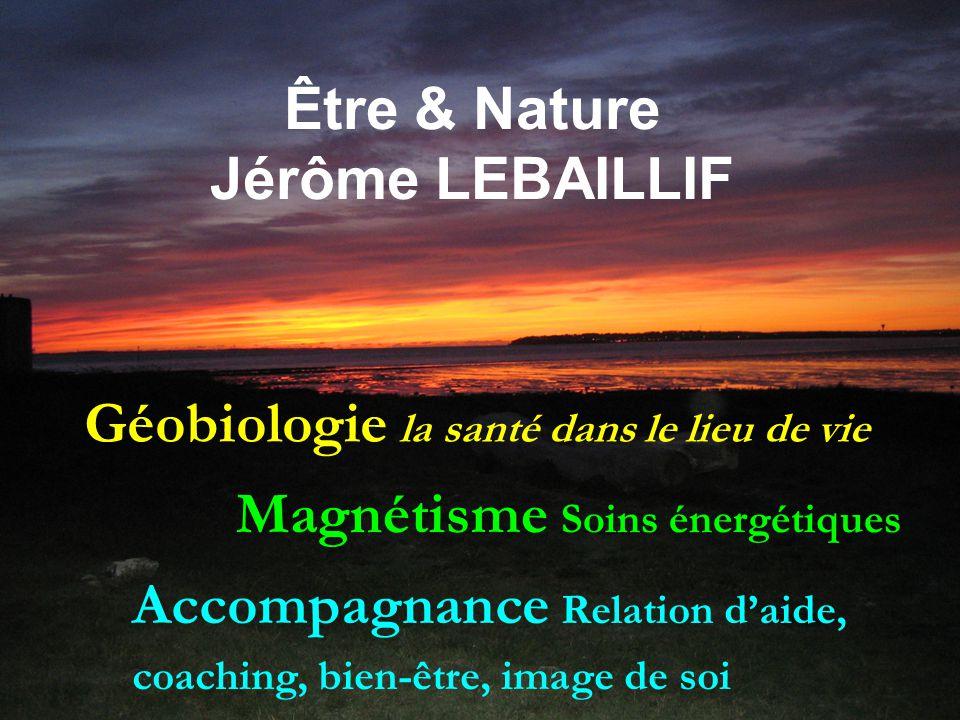 Être & Nature Jérôme LEBAILLIF Magnétisme Soins énergétiques Géobiologie la santé dans le lieu de vie Accompagnance Relation d'aide, coaching, bien-être, image de soi