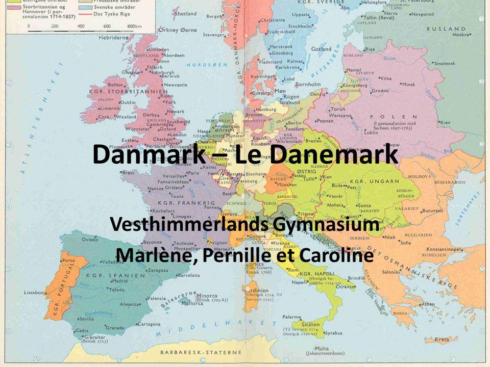 Vesthimmerlands Gymnasium Marlène, Pernille et Caroline Danmark – Le Danemark