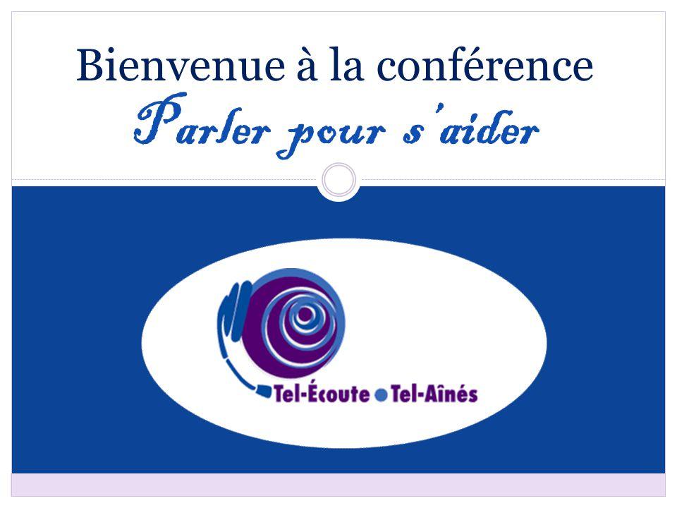 Bienvenue à la conférence Parler pour s'aider