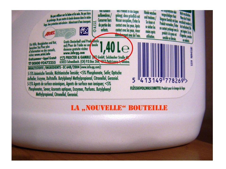 """la """"nouvelle"""" bouteille"""